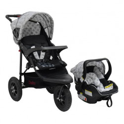 Chelino Urban Detour Travel System Black Leaf