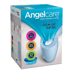 Angelcare Nappy Disposal Bin Blue