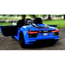 Audi R8 Spyder 12 Volt  Licenced Original Blue