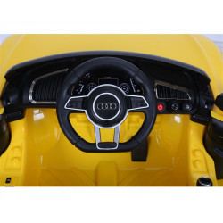 Audi R8 Spyder 12 Volt Licenced Original Yellow