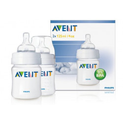 Avent Classic 125ml 2pc Bottle