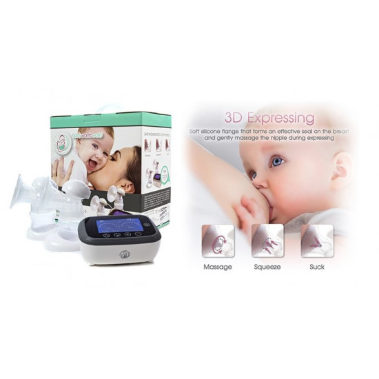 BABYWOMBWORLD DOUBLE ELECTRIC BREAST PUMP