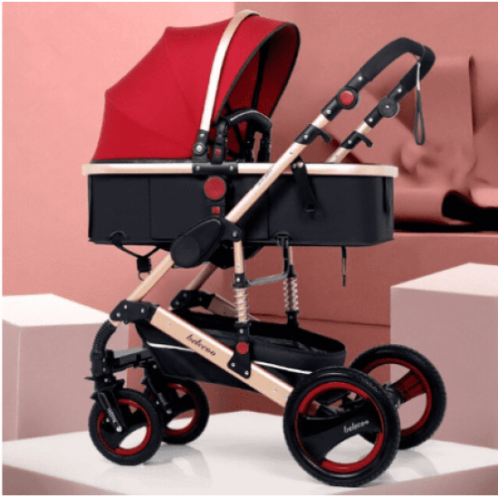 Belecoo Q3 2in1 Travel System Red