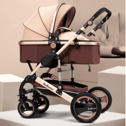 Belecoo Q3 2in1 Travel System Khaki