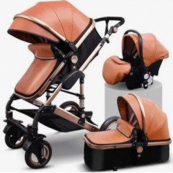 Belecoo 3in1 Travel System - Lux Brown