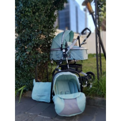 Belecoo 3in1 Travel System Mint