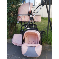 Belecoo 3in1 Travel System Peach
