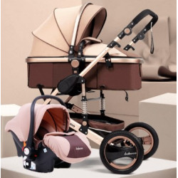 Belecoo Q3 3in1 Travel System Khaki