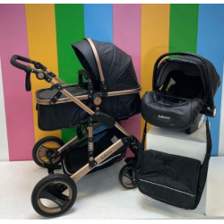 Belecoo 3in1 Sensation Series Black Leather Edition