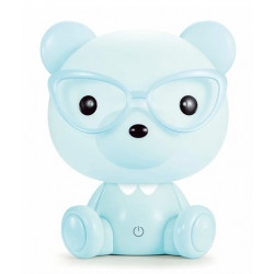 BabyWombWorld Animal Night Light Blue Bear