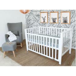 Babyhood Lulu Cot White