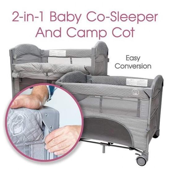 Babywombworld Co Sleeper Camp Cot