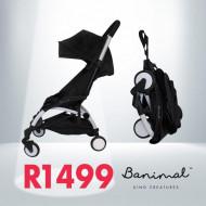 Banimal Stroller Black