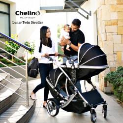 Chelino Platinum Lunar Travel Twin System Chrome
