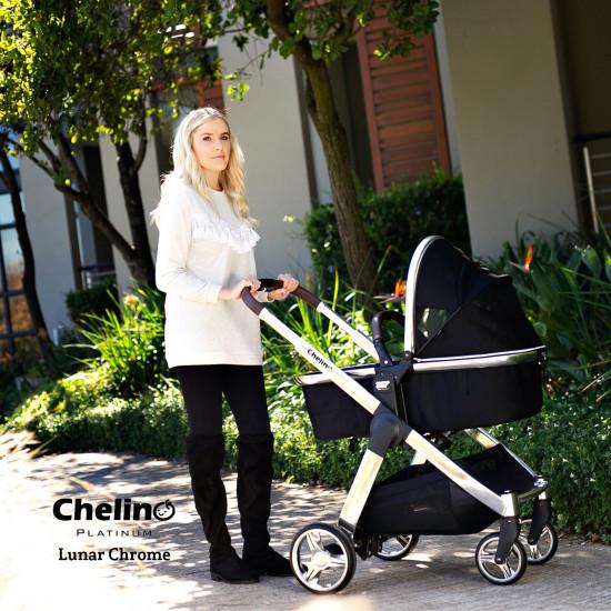 Chelino Platinum Lunar Travel System Chrome