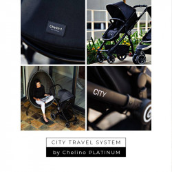 CHELINO PLATINUM City Travel System Chrome