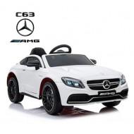 Mercedes Benz C63 Coupe White