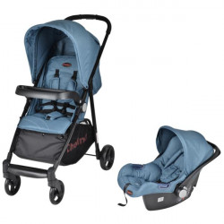 Chelino Cruze Travel System Teal Display