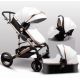 Belecoo 3 in 1 Travel System -  Lux White