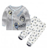 MOTHERS CHOICE INFANT'S 2PC SET MONSTERS
