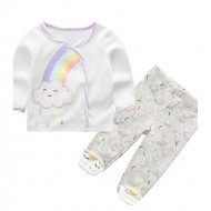 MOTHERS CHOICE INFANT'S 2PC SET UNICORN