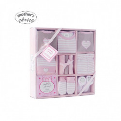 Mothers Choice 10pc gift set pink