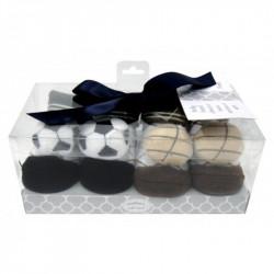 Mothers Choice 2pc rattle box socks balls
