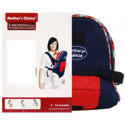 Mothers Choice 3way premium baby carrier