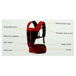 Mothers Choice 6way baby carriers with hip seat