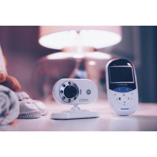 Motorola - MBP27T Digital Video Baby Monitor