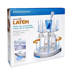 Munchkin LATCH™ Spinning Drying Rack