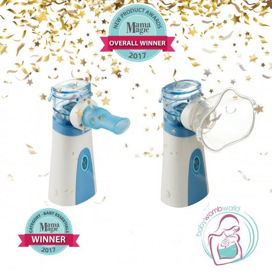 Babywombworld Portable Nebuliser Machine Mask Diffuser Kit