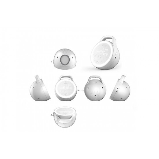 BabyWombWorld Portable Deluxe Double Electric Breast Pump