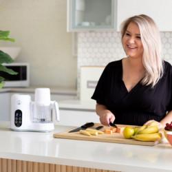 BabyWombWorld Baby Food Processor Steamer Blender and Milk Bottle Warmer