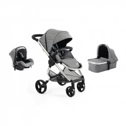 MIMI LUXE 3 IN 1 - CARRYCOT TRAVEL SYSTEM Display