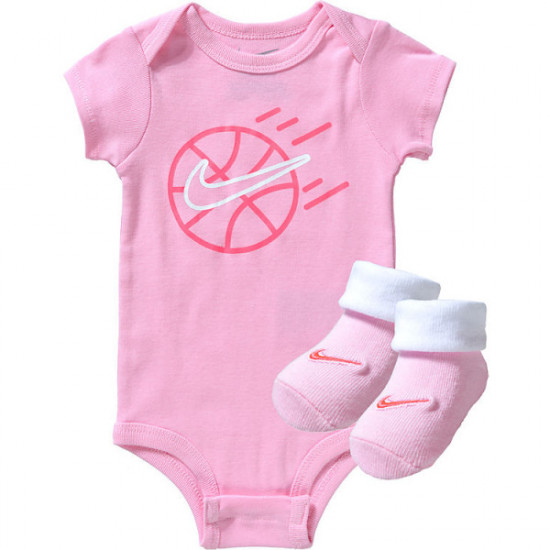 NIKE BABY GIRL 3-PIECE SET PINK