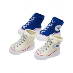 Converse Baby Chuck Taylor Sock Booties 2 Pack Dark Blue