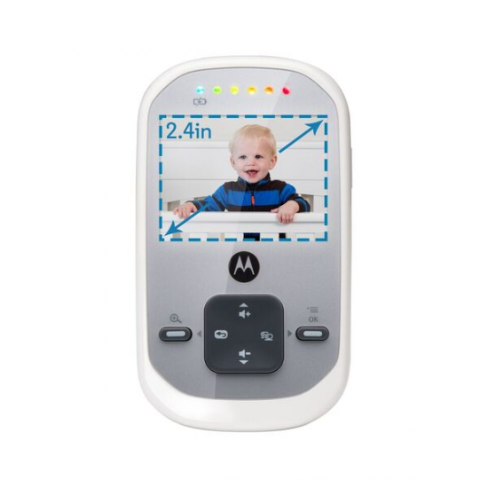 Motorola Wireless Video Baby Monitor MBP 622