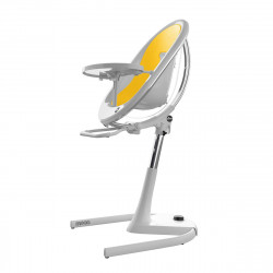 MIMA MOON HIGH CHAIR WHITE AND YELLOW