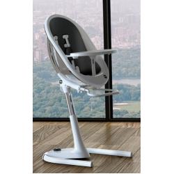 Mima Moon High Chair White on Black