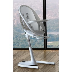 MIMA MOON HIGH CHAIR WHITE AND SNOW WHITE