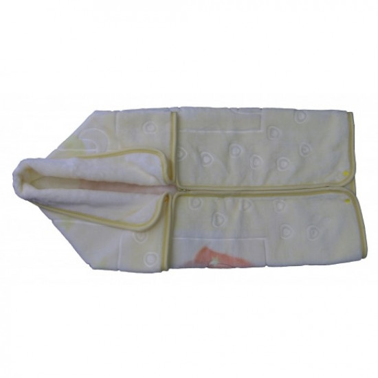 MOTHERS CHOICE INF BABY SAC BLANKET - BEIGE