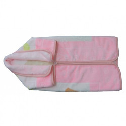 MOTHERS CHOICE INF BABY SAC BLANKET - PINK
