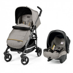 PEG PEREGO SI SWITCH COMPLETO TRAVEL SYSTEM LUXE GREY