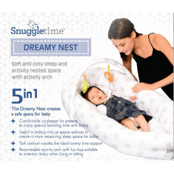 Snuggletime Dreamy Nest 5-in-1 baby sleeper