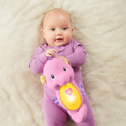 Fisher Price Soothe & Glow Seahorse, pink