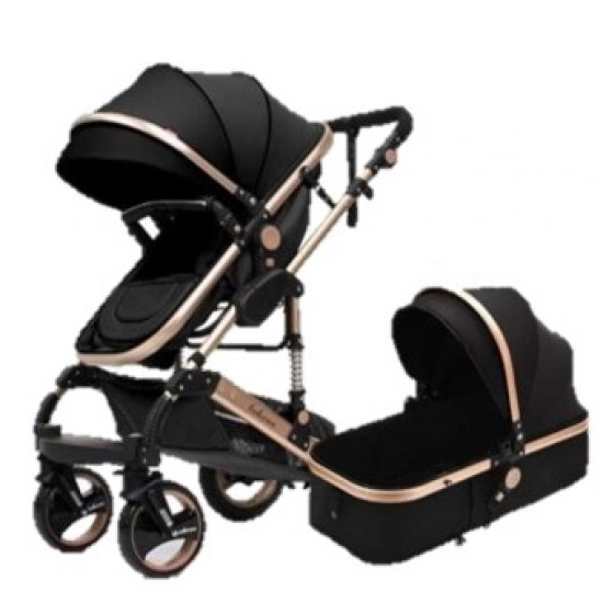 Belecoo Q3 Ltd Edition Black 2in1 Travel System