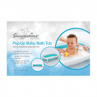 Snuggletime Pop-Up Bath Aqua