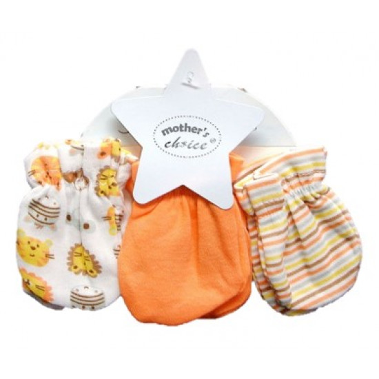 Mothers Choice 3pc Mitten Set Zoo