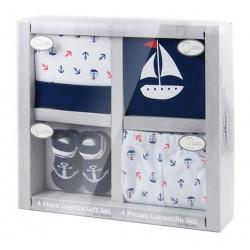 Mothers Choice 4 Piece Gift Set Sailor